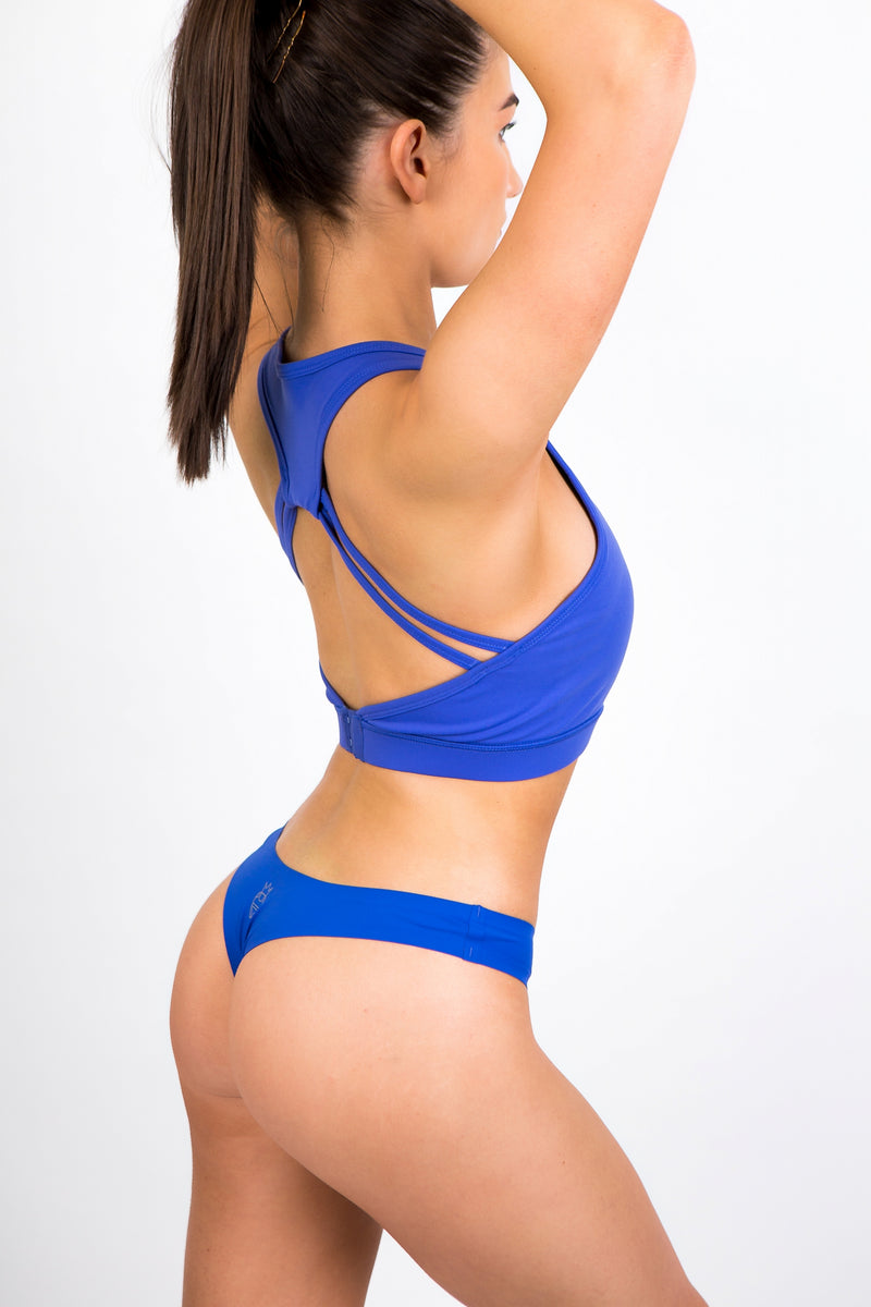 Blueberry Seamless Thong