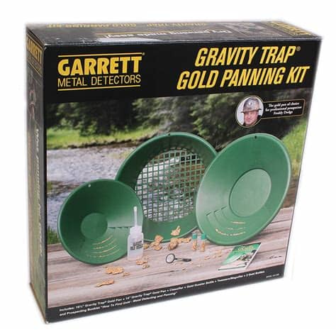 Garrett Gold Trap Gold Panning Kit