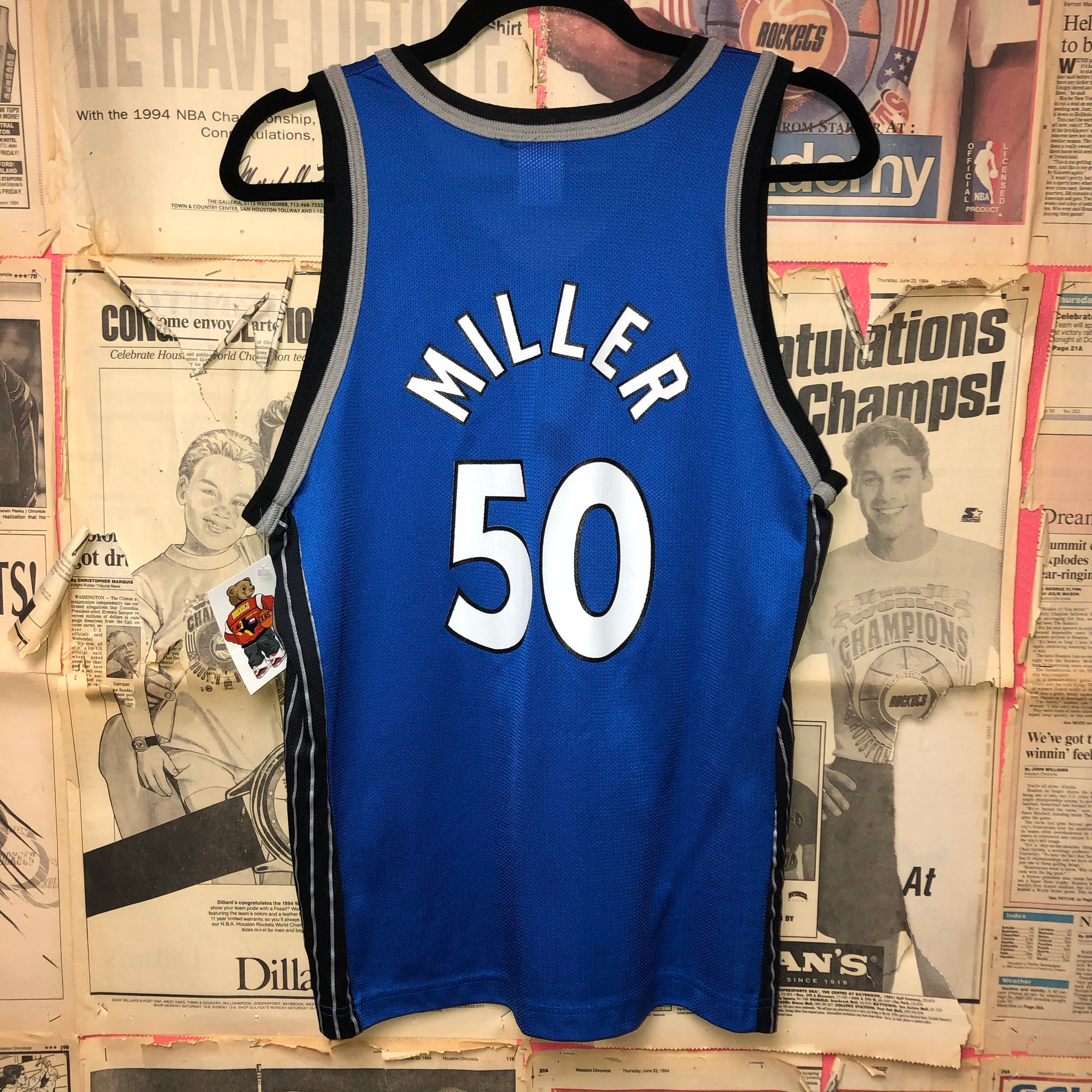 Orlando Magic Miller Champion Jersey Size Youth Large
