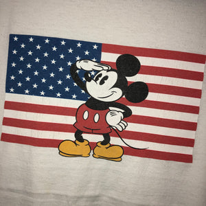 Mickey Mouse USA T Shirt Size XL