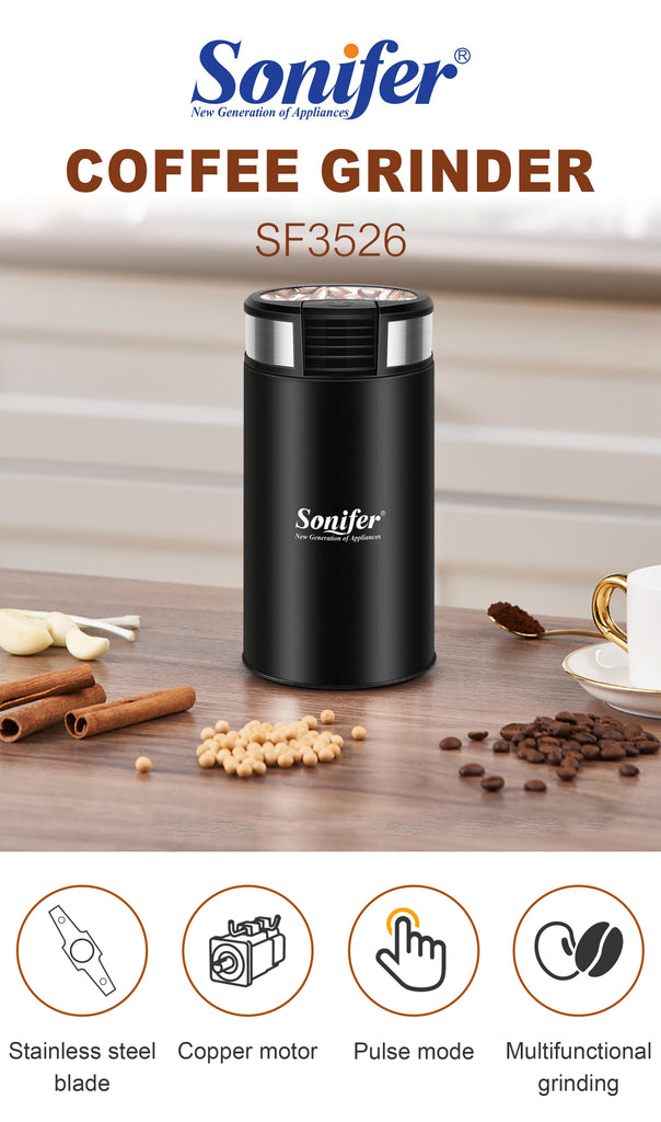 Mini Electric Coffee Grinder / Grain Spices Mill Herbs Nuts Grinder - Axelain