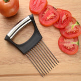 Stainless Steel Onion Cutter / Fruit Vegetables Slicer - Axelain