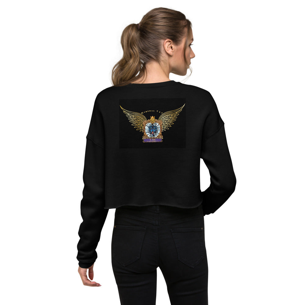 Crop Sweatshirt - Back