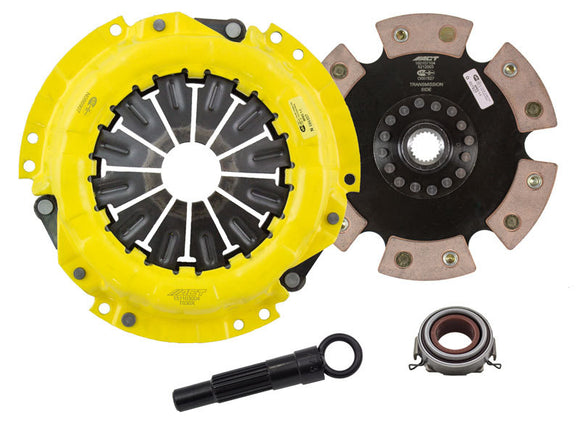 ACT 1991 Geo Prizm XT/Race Rigid 6 Pad Clutch Kit