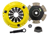 ACT 1992 Honda Civic Sport/Race Rigid 6 Pad Clutch Kit