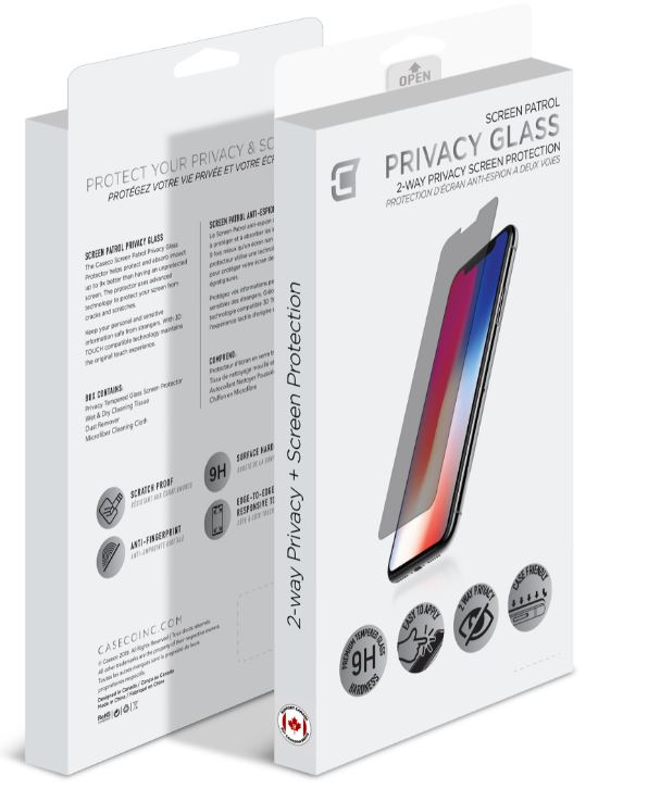 iPhone 12 Privacy tempered Glass