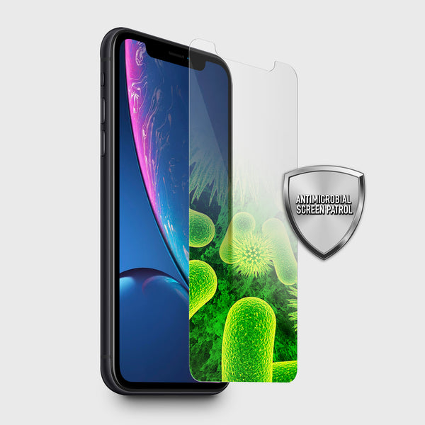 2x Antimicrobial Screen Protector - iPhone XR