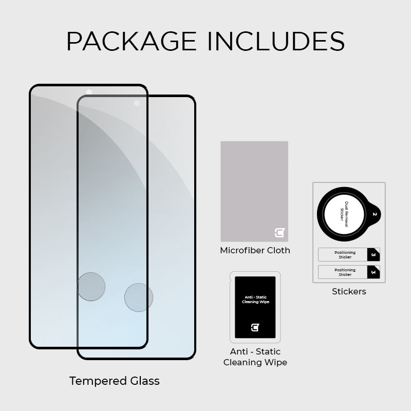 2X Full Adhesive Screen Protector - Samsung S21