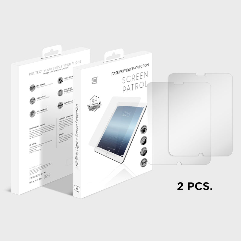 2X Screen Protector - Apple iPad 5th Gen Tempered Glass Screen Protector