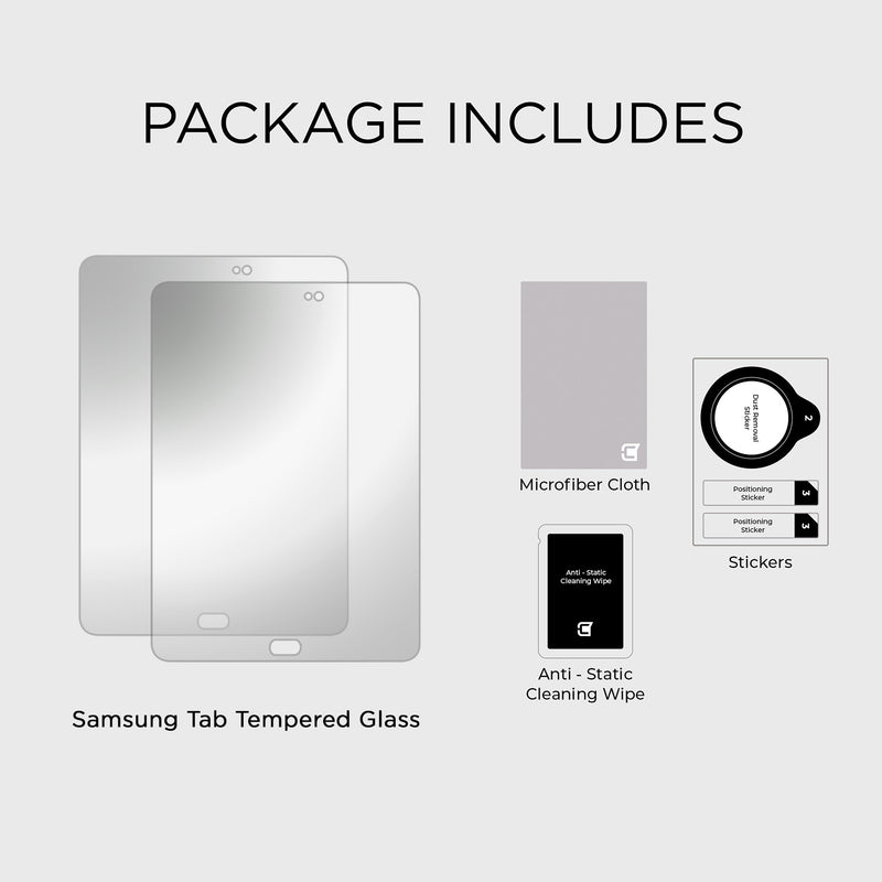 Screen Protector Samsung Galaxy Tab S2 9.7 Tempered Glass Screen Protector | Caseco