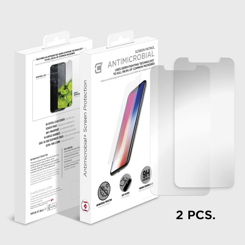 2x Antimicrobial Screen Protector - iPhone 11