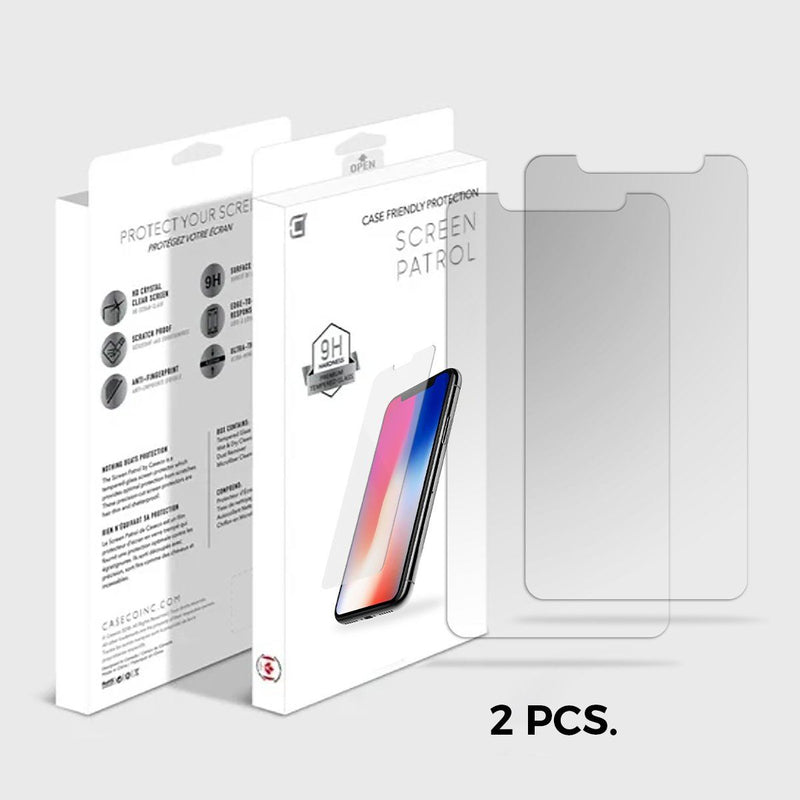 LG Q Stylo Plus Tempered Glass - Screen Patrol Screen Patrol Caseco