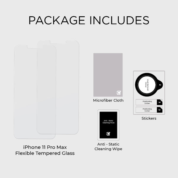 2x ScreenFlex Screen Protector - iPhone 11 Pro Max