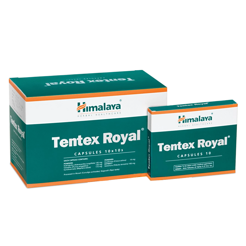 Himalaya Tentex Royal - Enhances Desire & Improves Performance