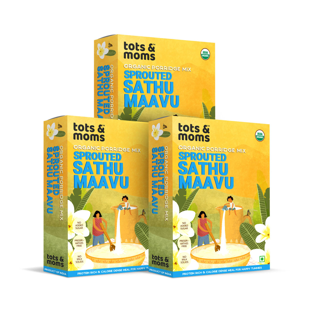 Sprouted Sathu Mavu - Pack of 3