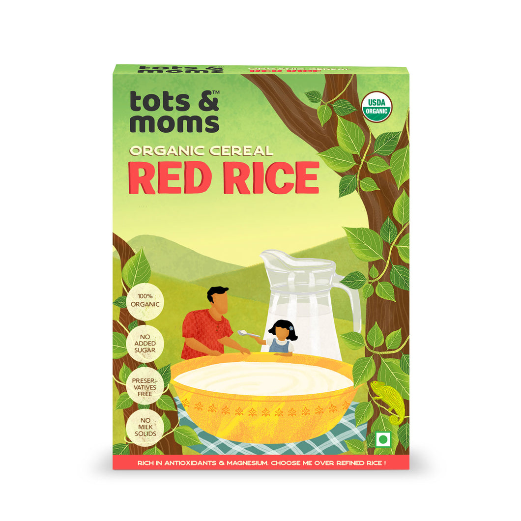 Red Rice Cereal - First Food - 200g