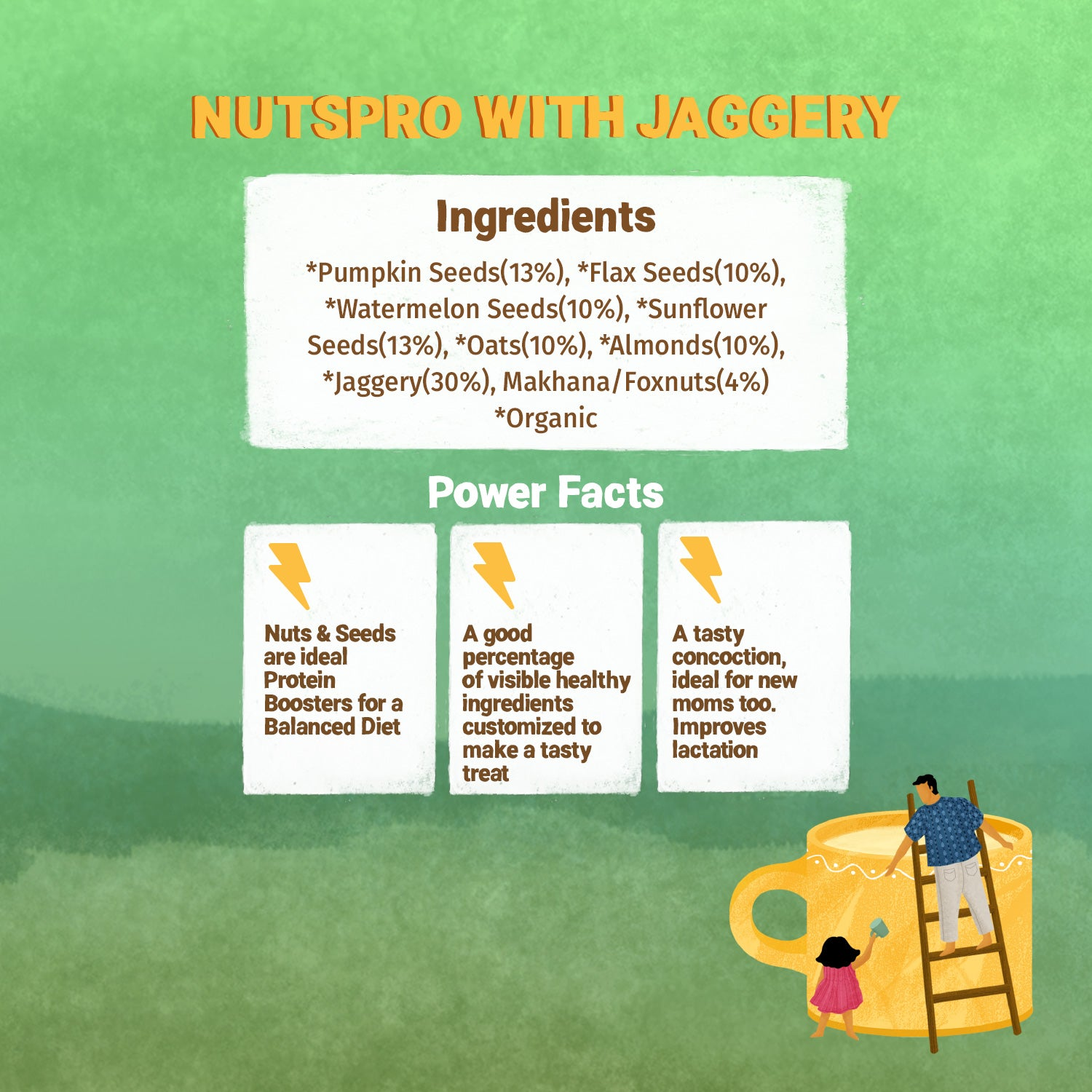 Nutspro with Jaggery Drink Mix - 200g