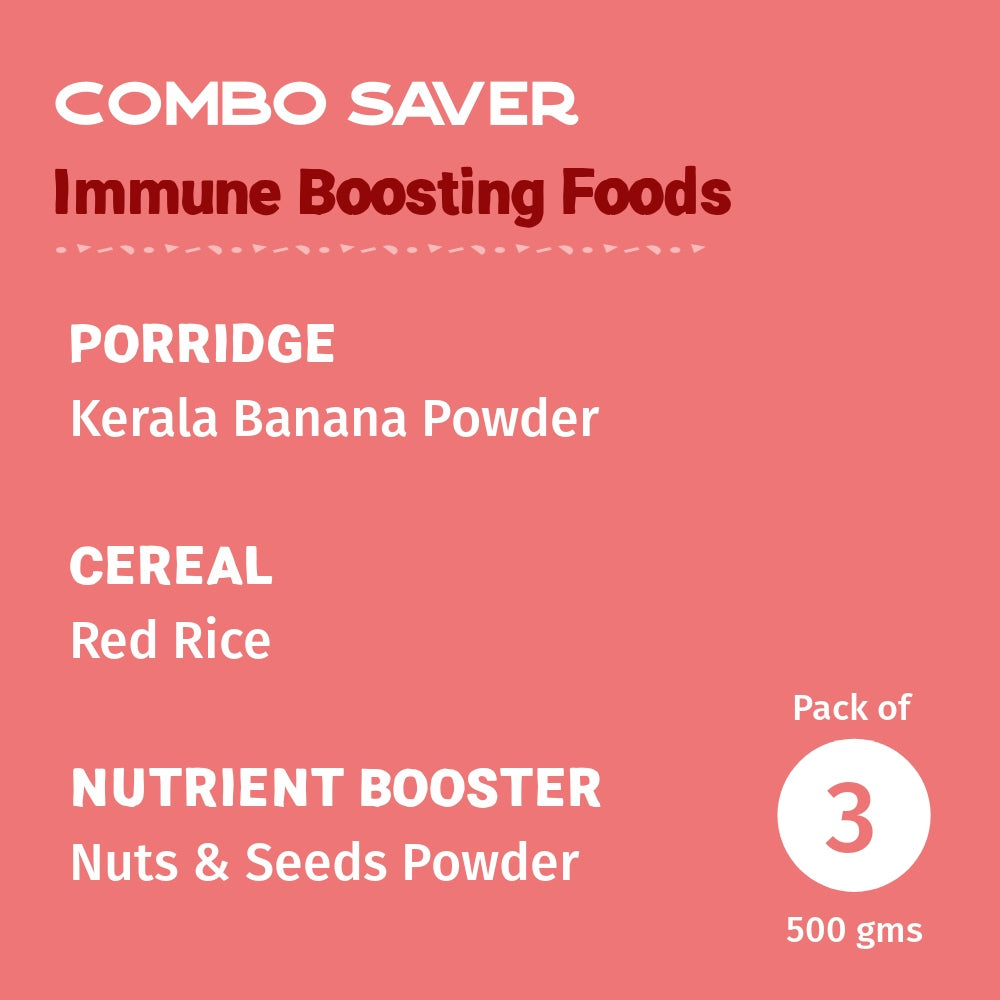Immune Boosting Foods Combo - Pack of 3