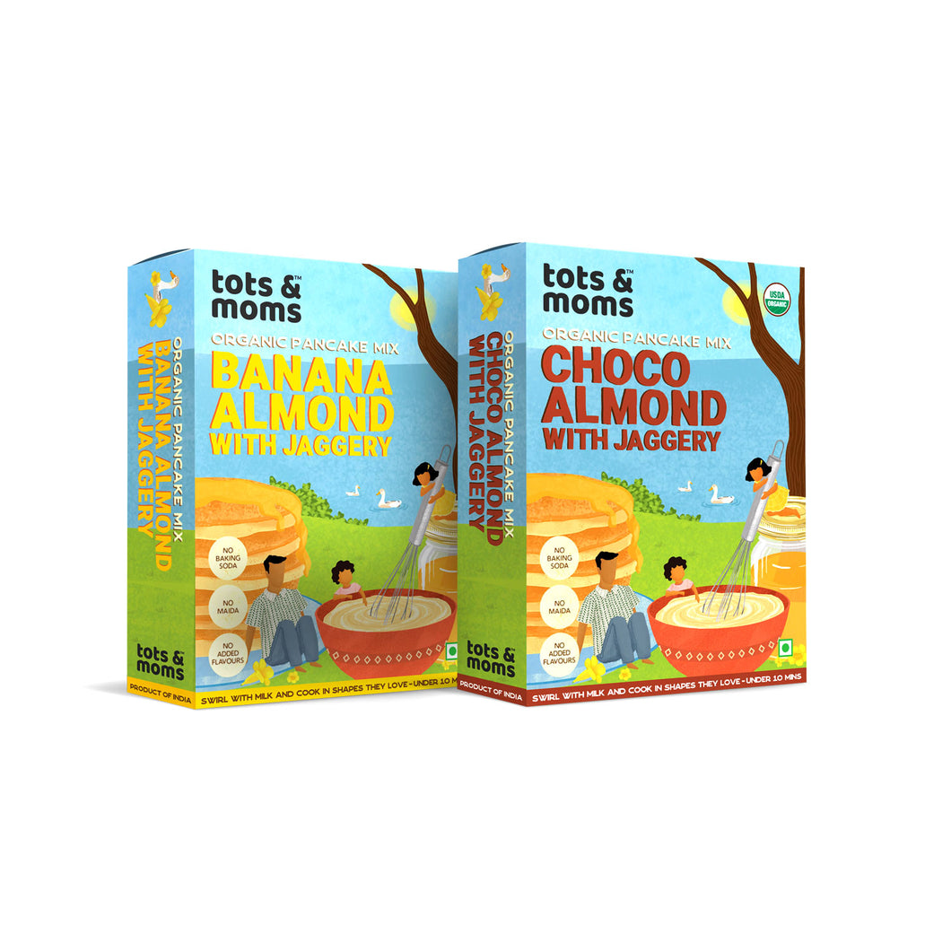 Pancakes Combo - Pack of 2