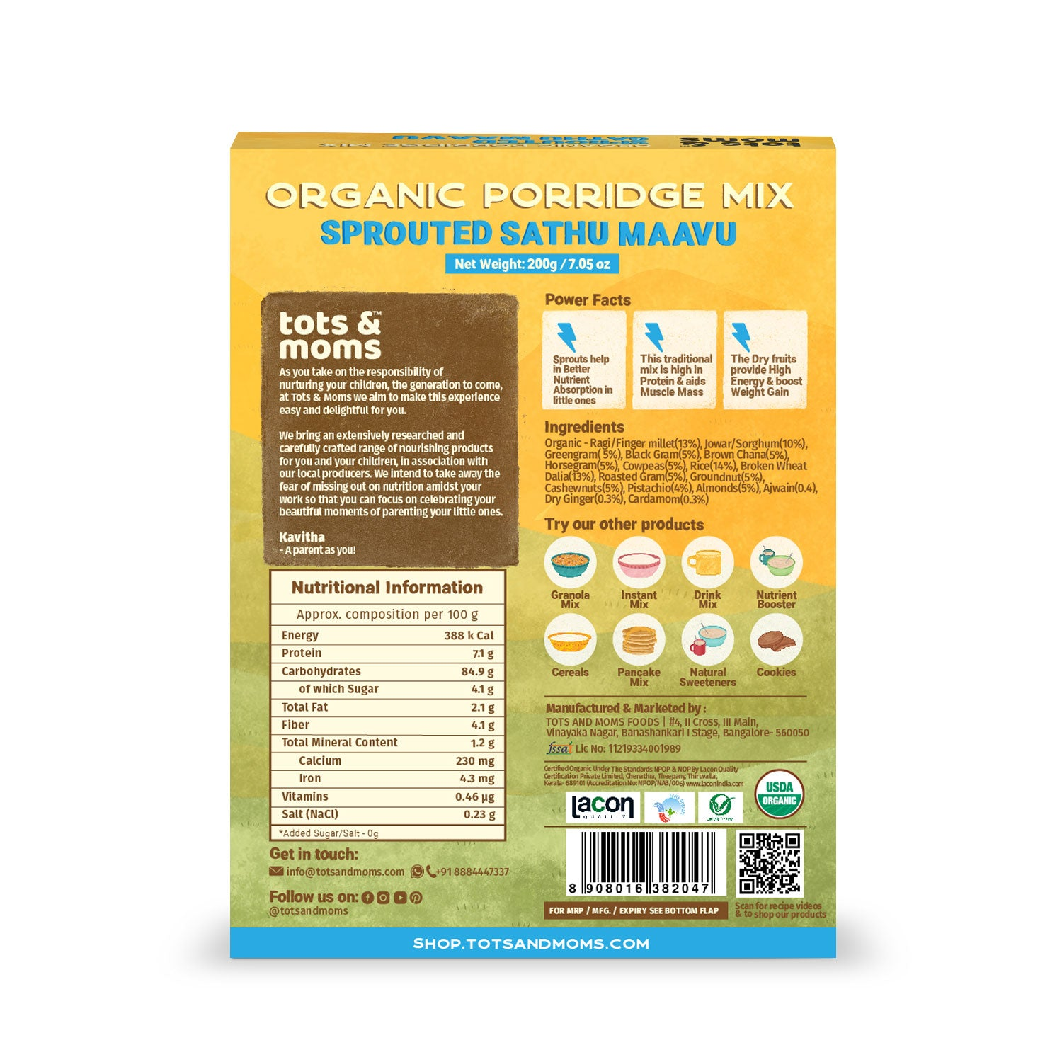 Weight Gaining Foods Combo -  Pack of 4