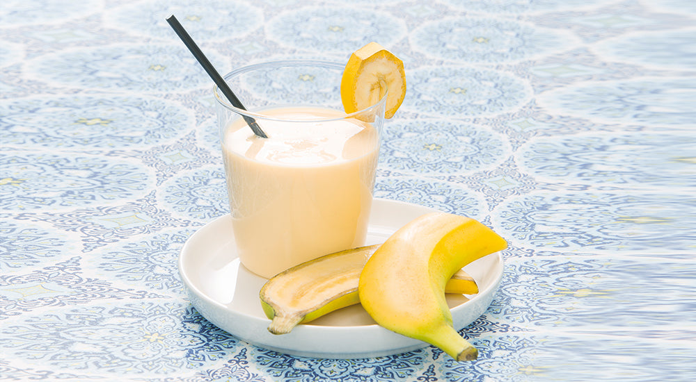 Bananen-Smoothie ready to to