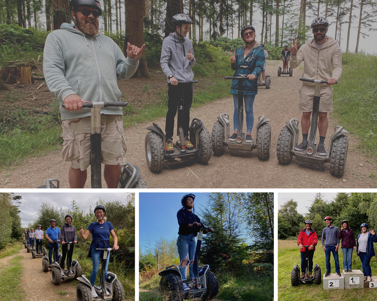 Segway Tours Cann Woods Plymouth Devon UK