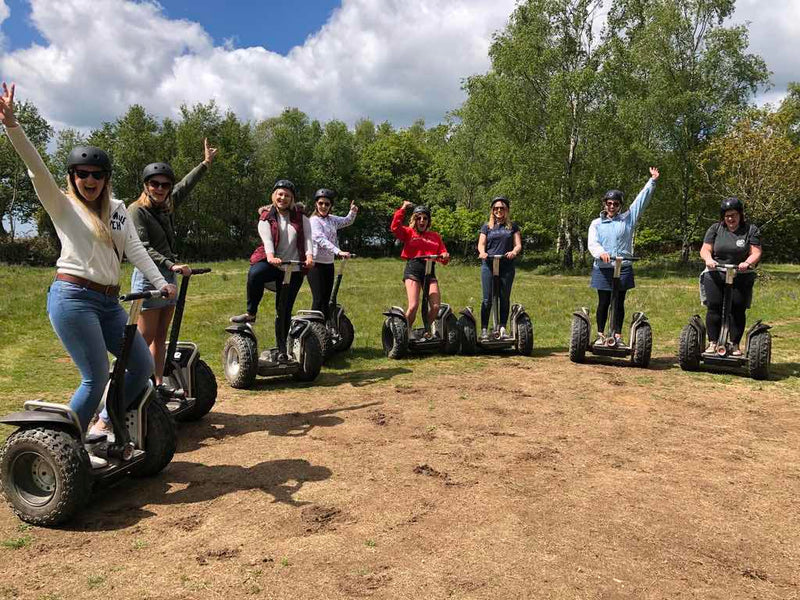 A trip to Devon is never complete without riding a Segway in the Cann Woods
