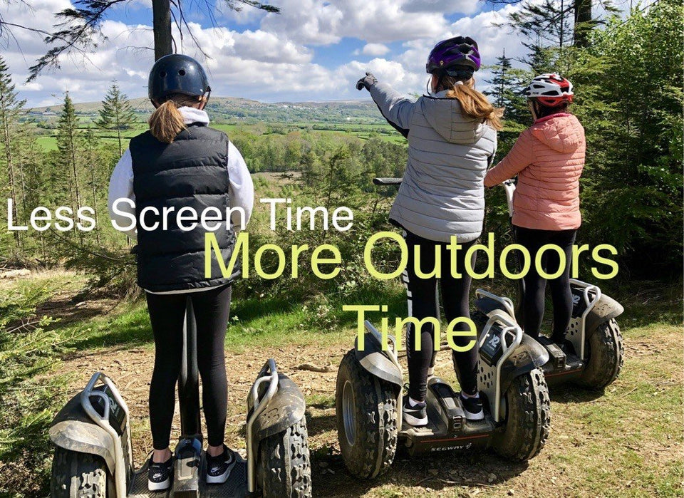 Get the kids out in the fresh air on a segway Tour