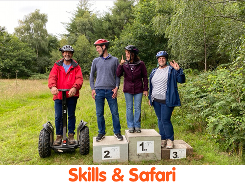 Segway Safari & Skills Tour Gift Vouchers Cann Woods or Segway Safari Exeter Haldon Forest. - Segway Plymouth Devon Cann Woods