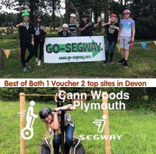 Load image into Gallery viewer, Haldon Forest & Cann Woods Segway Vouchers
