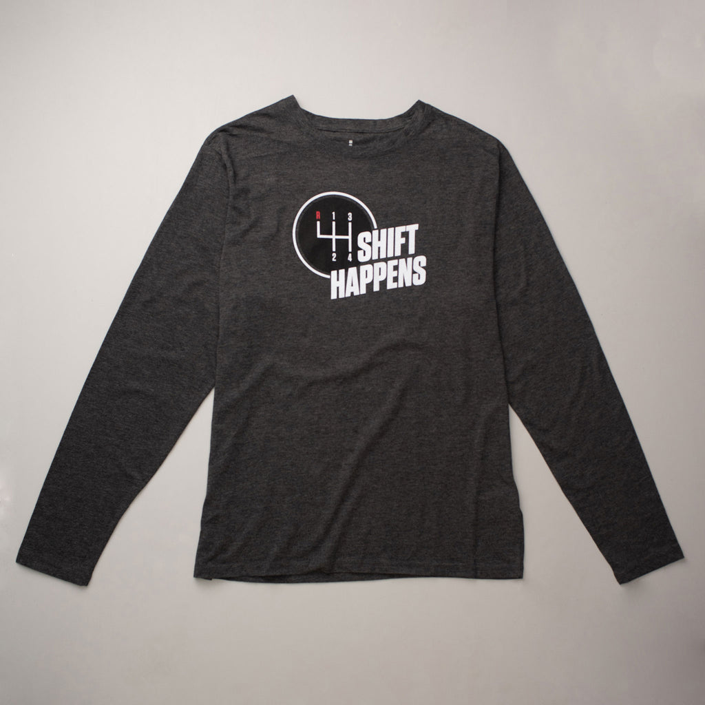 Men's Shift Happens Long Sleeve T-shirt