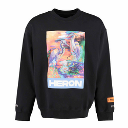 Heron Preston Water Colours Embroidery Sweatshirt
