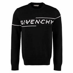 Givenchy Split Logo Knitted Sweater