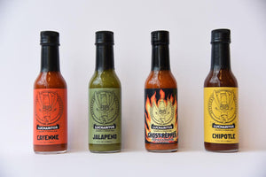 Lucharitos Sauce FOUR PACK!