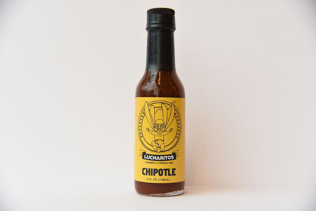 Lucharitos Hot Sauce - Chipotle