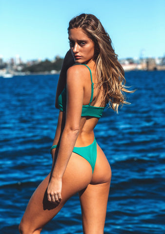 Emerald Green Brazilian Bottom