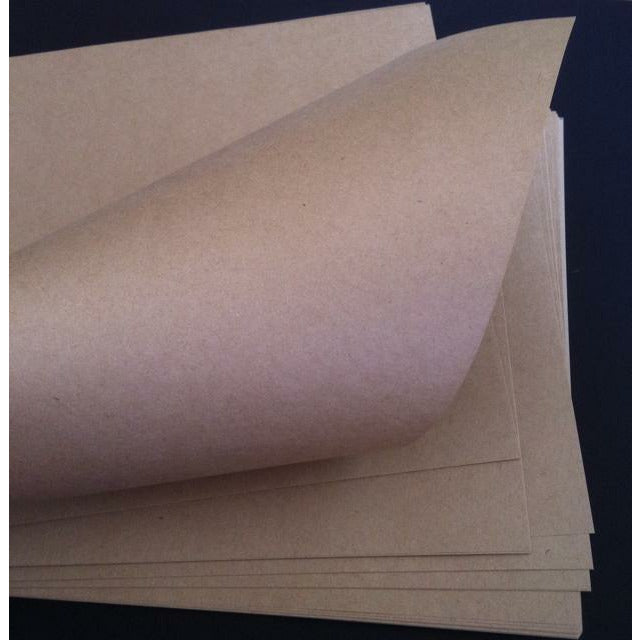 A4 120gsm Brown Kraft Paper (25 Sheets)