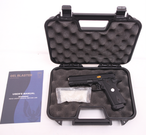 Compact OPS Tactical .45 Full Metal Gas Blowback Gel Blaster Pistol - G25