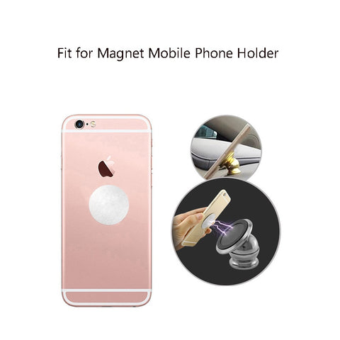 2PCS 35x0.3mm Metal Plate disk iron sheet for Magnet Mobile Phone Holder For Magnetic Car Phone Stand holders