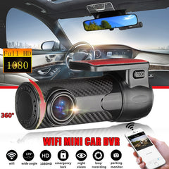 HD 1080P Automatic Vehicle Video Recorder Dash Cam Dashcam Mini Car DVR WIFI APP Nighr Vision 170 Degree G-sensor Wifi