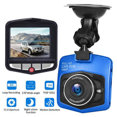 Car DVR Dash Camera HD 1080P Driving Recorder Video Night Vision Loop Recording Wide Angle Motion Detection Dashcam Registrar