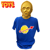 Mike's Vintage Toys T-Shirt - Blue