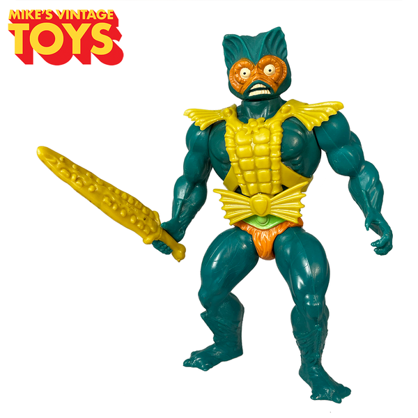 Masters of the Universe Mer-Man 1982 Complete MOTU