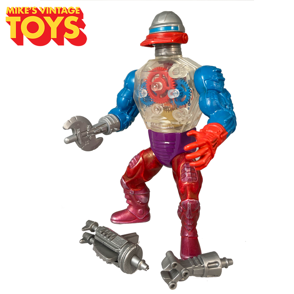 Masters of the Universe Roboto 1985 Complete MOTU