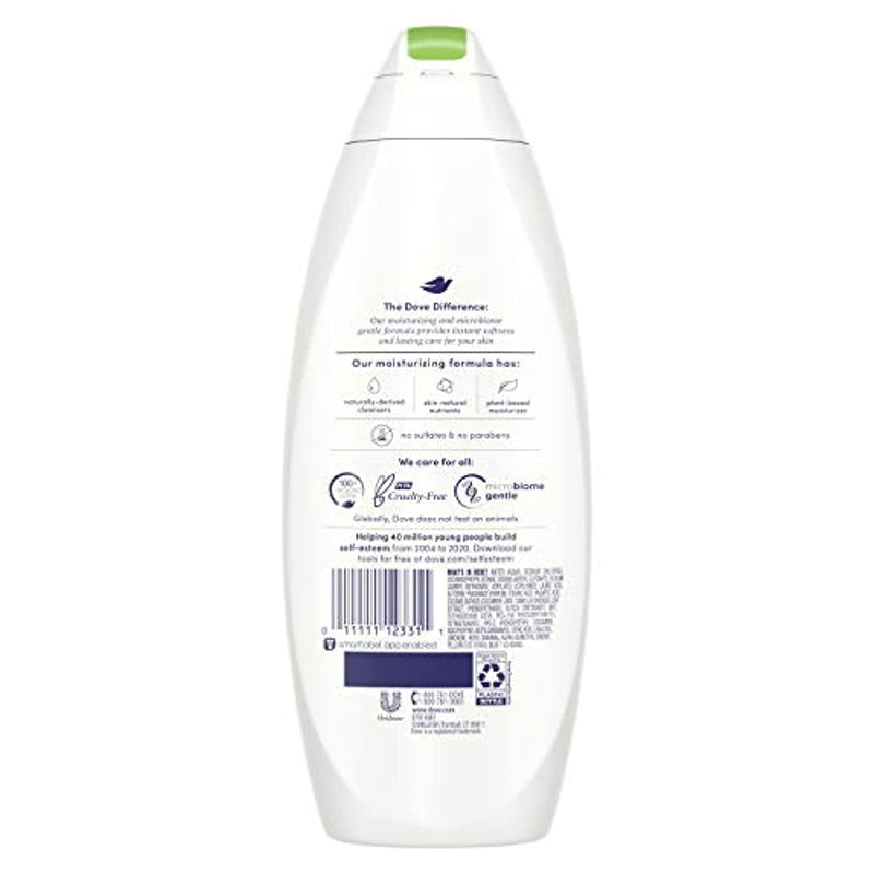 Classier: Buy Dove Dove Sulfate Free Body Wash, Cucumber and Green Tea, 22 oz, Pack of 4