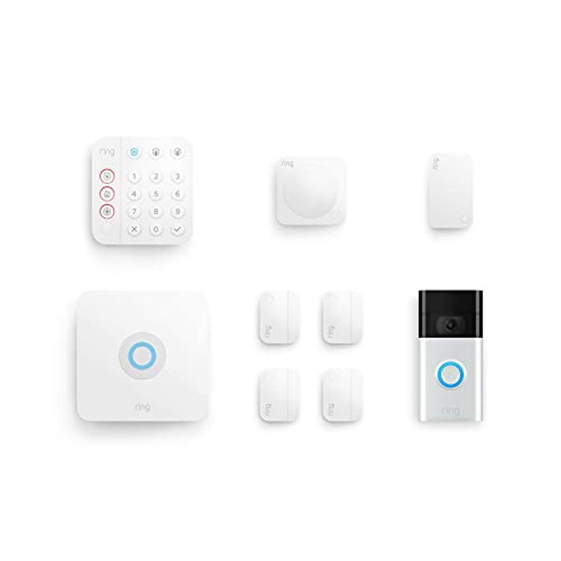 Classier: Buy Ring All-new Ring Alarm 8-piece kit (2nd Gen) with Ring Video Doorbell (2nd Gen)
