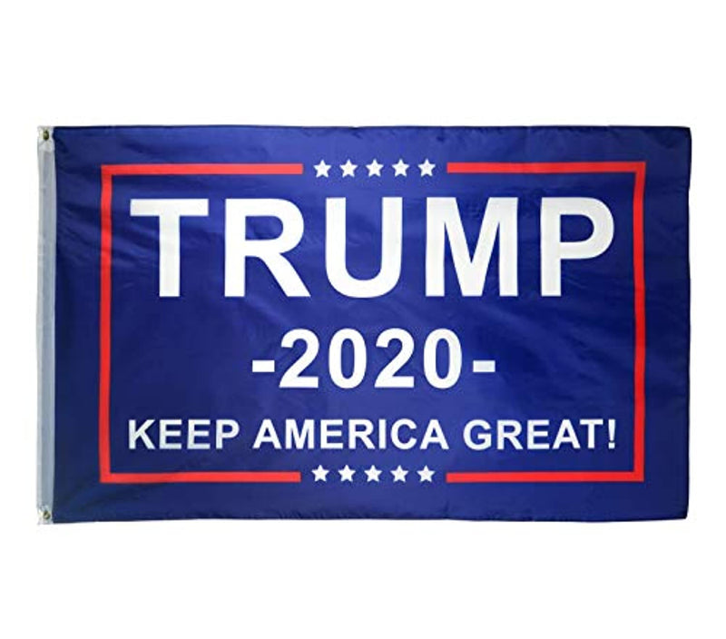 Classier: Buy Donald J. Trump DFLIVE Donald Trump for President 2020 Keep America Great Flag 3x5 Feet with Grommets