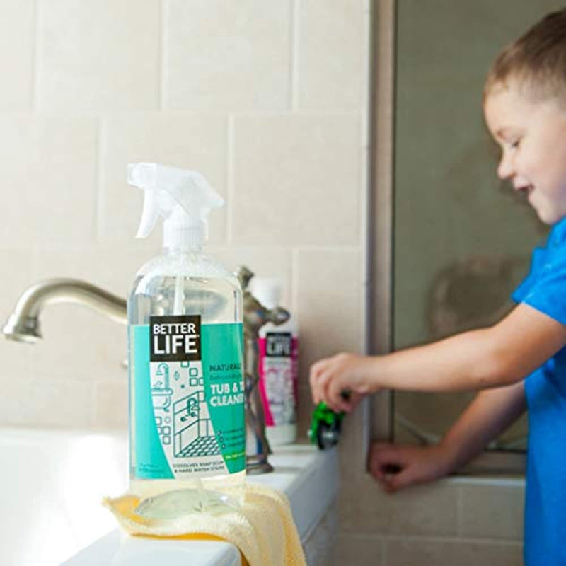 Classier: Buy Better Life Better Life Natural Tub and Tile Cleaner, Tea Tree and Eucalyptus, 32 Fl Oz (Pack of 2)