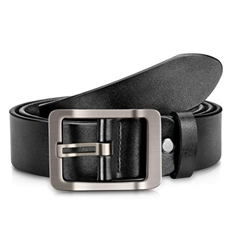 Classier: Buy OVEYNERSIN Men's belt, OVENERSIN Genuine Leather Causal Dress Belt for Men with Classic Single Prong Buckle