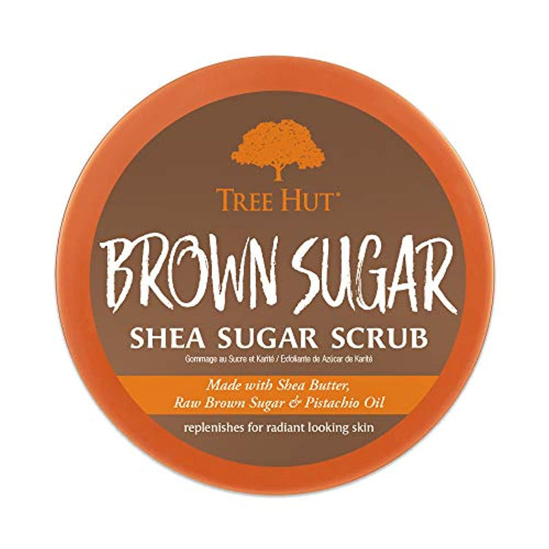 Classier: Buy Tree Hut Tree Hut Shea Sugar Scrub Brown Sugar, 18oz, Ultra Hydrating & Exfoliating Scrub for Nourishing Essential Body Care